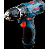 Khoan khoan vặn vít động lực dùng pin Bosch GSB 120-LI Professional