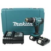 Máy khoan búa, vặn vít dùng pin Makita - Model DHP453SYE (18V)